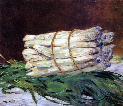 Edouard Manet - A Bunch of Asparagus