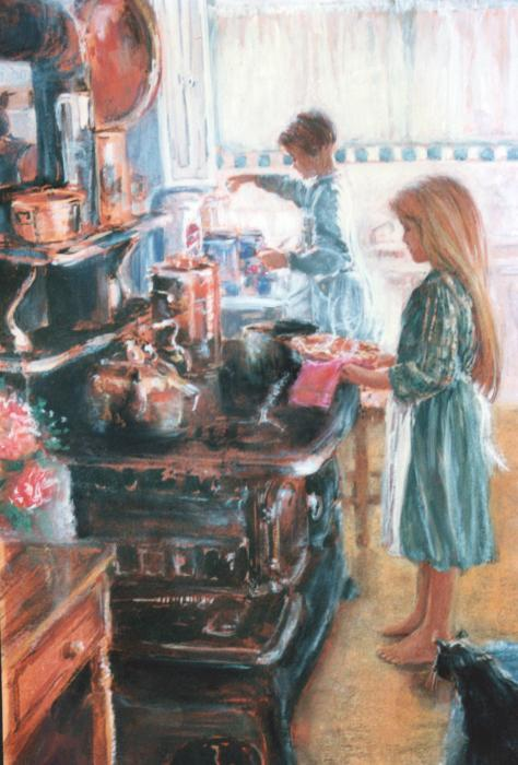 an-old-fashioned-kitchen-linda-crockett