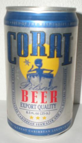 Coal Beer is also from Curacao
