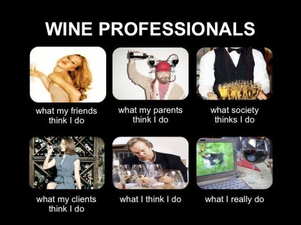 Humor Wine Professionals