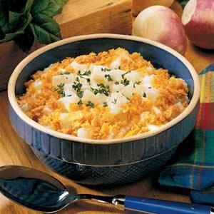 Scalloped turnips - image: TasteofHome