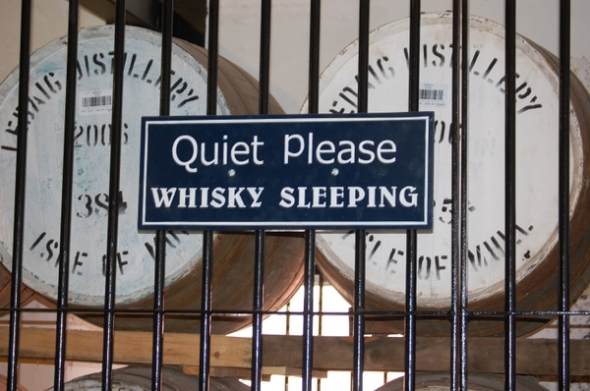 whiskey silence