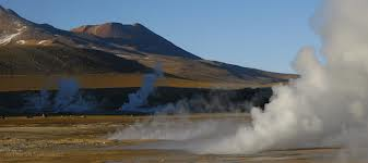 A land of geysers and volcanoes