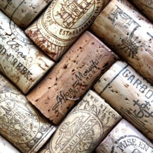 Real corks, made from cork