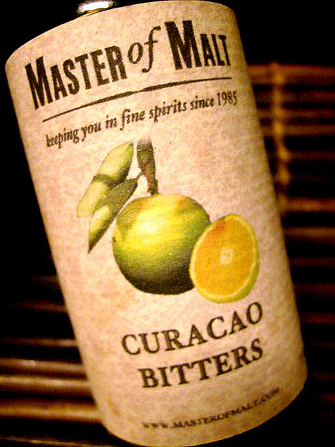 Another orange bitters from the island of Curacao