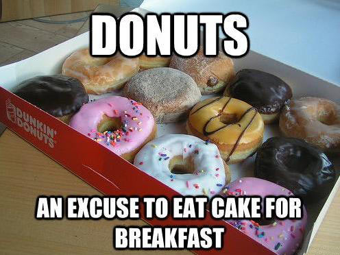 funny-donuts-breakfast-cake-coffee