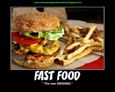 fast food smoking