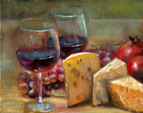 wine_and_cheese_8x10_in__original_oil_on_canvas_pa_food_and_drink__still_life__779c8300dc4149a3ac622073c47e5ea7