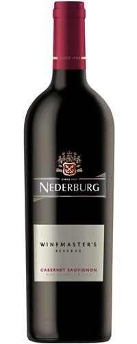 Nederburg Winemaster's reserve Cabernet Sauvignon
