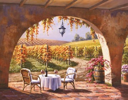 Vineyard for Two - Sung Kim
