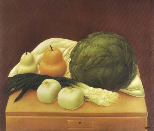 Fernando-Botero-Paintings-1967-table-de-cuisine