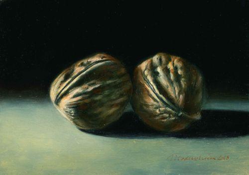 Two walnuts - byTanja Moderscheim