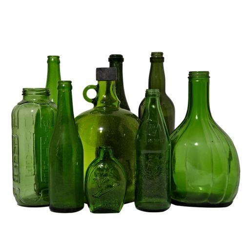 Green-Glassware